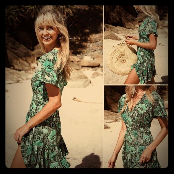 54cdaf236d3 Spell Winona Mini Dress Ivy! M 5b09ed903a112e1dd2ea8bc6